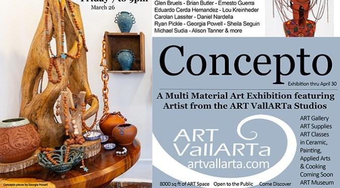 Concepto Exhibition at Art Vallarta
